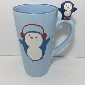 Adorable Penguin Be Merry Christmas Mug